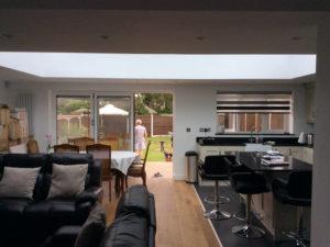 Rear Essex House Extension Lantern
